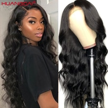 13*4 Lace Front Human Hair Wigs PrePlucked 14-34inch Brazilian Body Wave Lace Frontal Wig With Baby