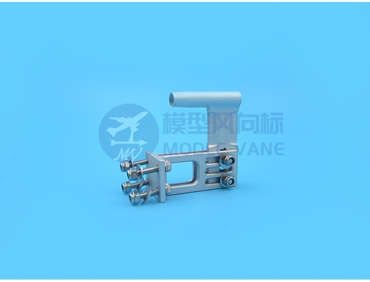 1PC 4mm Shaft Bracket Aluminum Alloy 4mm Flexible Shafts Fixing Brackets Tail Body Support Mount for RC Brushless Electric Boats enlarge