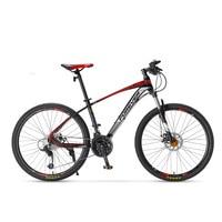 Mountain Bike 27-Speed 26 Inch Bicycle Road Bike Double Disc Brakes Mountain Bike Student Bicycle
