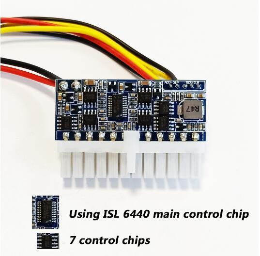 DC المدخلات DC-ATX-250W 24pin امدادات الطاقة وحدة Swithc بيكو PSU سيارة السيارات البسيطة ITX عالية DC-ATX الطاقة وحدة ITX Z1