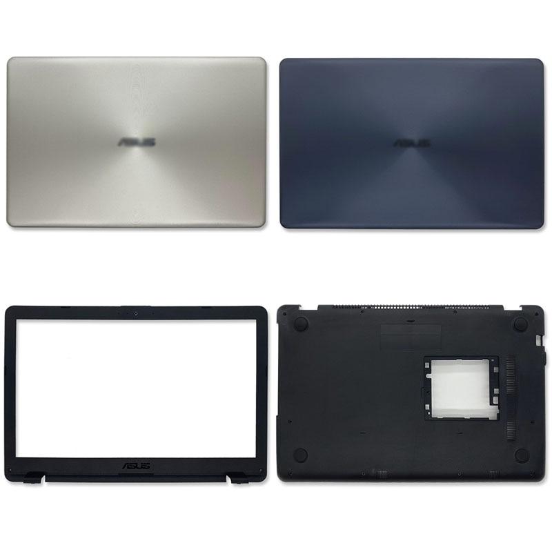 جديد لـ ASUS X542 X542UR X542UQR X542UN X542UQ FL8000U FL8000UN غطاء خلفي للكمبيوتر المحمول/الحافة الأمامية/الحقيبة السفلية ذهبي أزرق أبيض