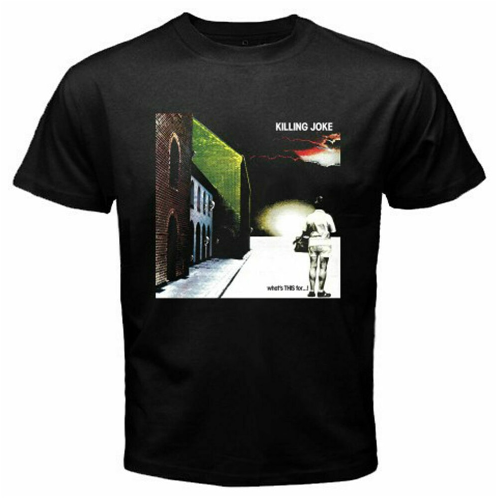 Killing Joke banda de Rock británica, camiseta negra para hombre, talla S3Xl, camiseta transpirable