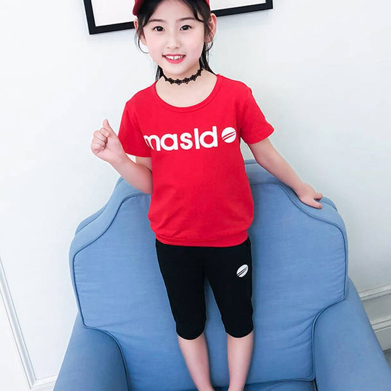 Clothing Sets Summer Toddler Girls Clothes 2pcs Outfits Kids For Tracksuit Suit Children