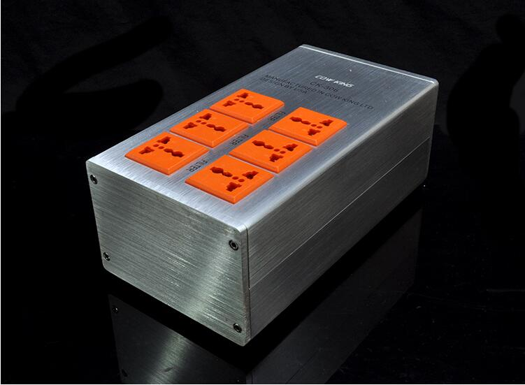 COW KING CK-306 Aluminum Alloy Power Supply Processor Power Filter