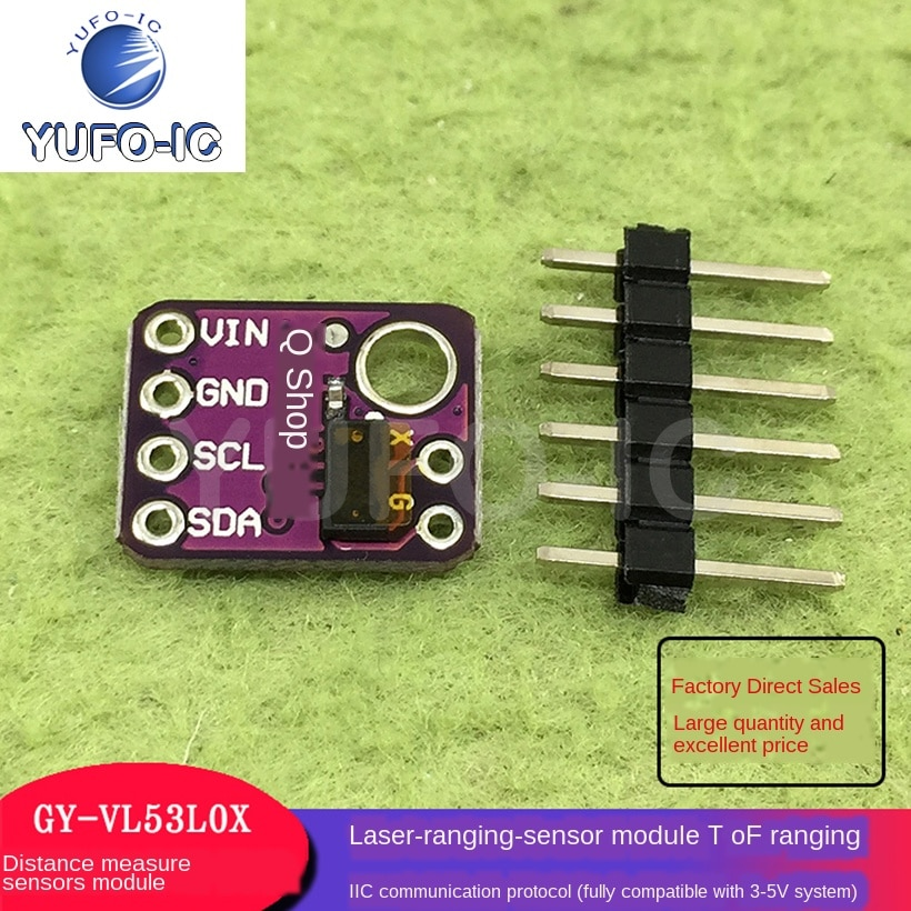 Envío gratis 3 uds. Sensor de rango GY-530 VL53L0X Módulo Sensor de rango láser