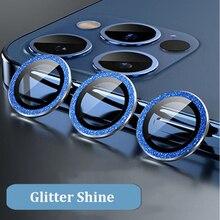 Camera Glass For iPhone 12 Pro Max Glass Camera len Glass Case Sreen Protector Diamond 12Pro Metal i