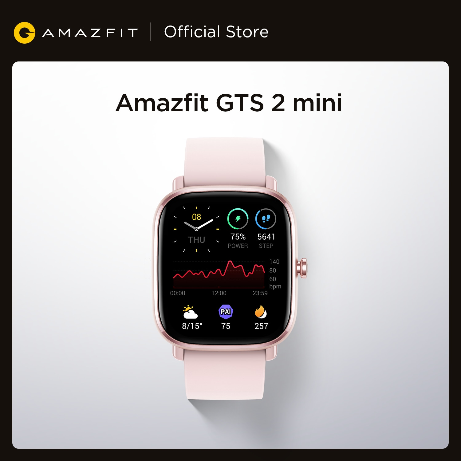 GLobal Version Amazfit GTS 2 Mini Smartwatch GPS Bluetooth Female Cycle Tracking Smart Man Woman Watch For Android iOS Phone