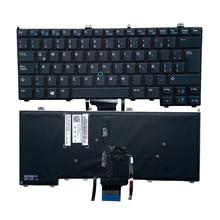 laptop keyboard LA Latin Spanish for DELL E7440 E7420 E7240 PK130VN1B21 NSK-LD0BC 1E 9ZN9ULN00154K00A1ZVB Pointer Backlit black