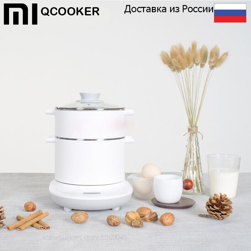 Универсальная электроплита Xiaomi Mijia Qcooker Multipurpose Electric Cooker (белый/white) Модель: CR DR01