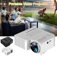 Projecteur video Portable UC28C 5V 2A  pour Home cinema  prise en charge de telephones intelligents IOS et Android
