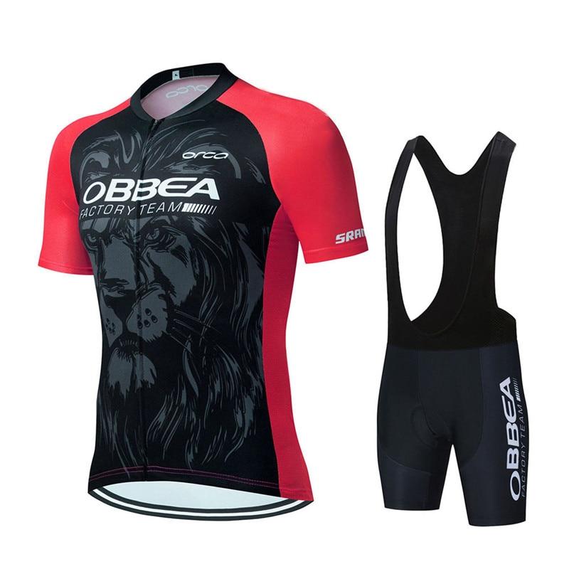 Pro 2021 nuevo verano Ciclismo Jersey conjuntos transpirable MTB bicicleta Ropa de...