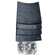 Spare Parts for Volvo Trucks, VOE 3095179, Brake Lining Kit, drum brake 200mm
