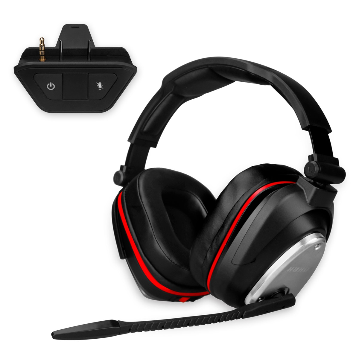 Wireless Gaming Headphones 7.1 Virtual Surround Sound 2.4G Foldable Headsets for Xbox One and Xbox Series X/S 24mS Low Latency