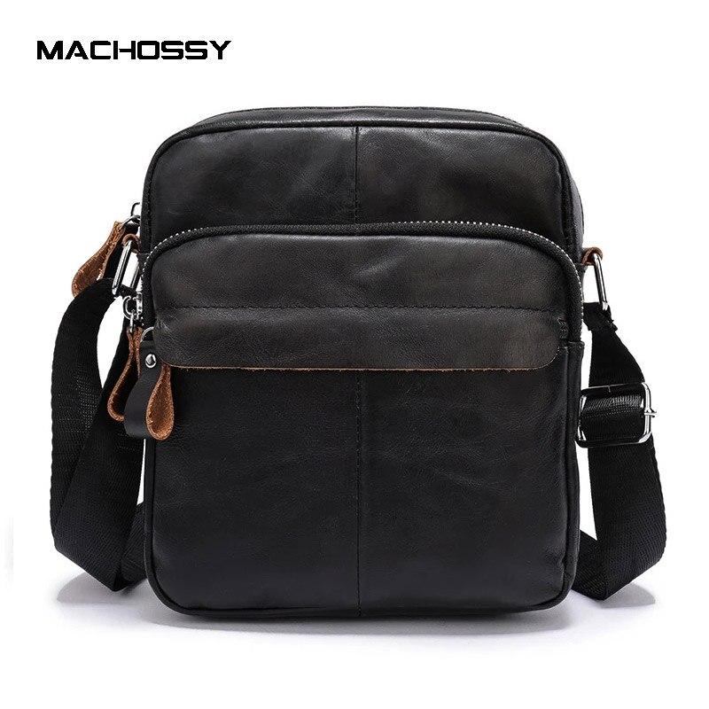 Новая мужская сумка через плечо, кожаная сумка через плечо, Качественная мужская сумка из натуральной кожи, сумка через плечо, мужская сумка... yuzefi сумка через плечо