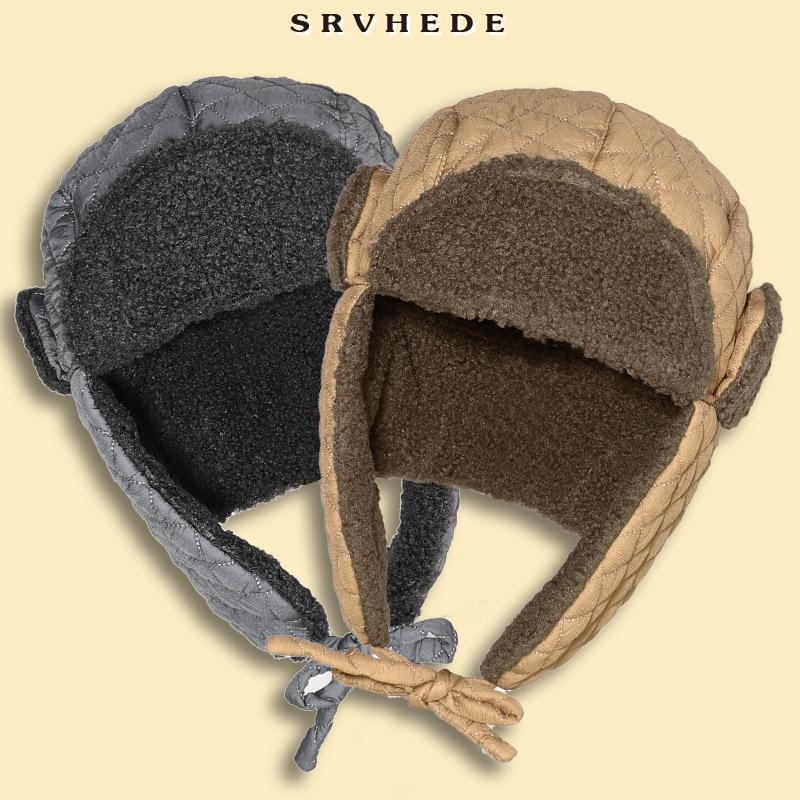 Зимняя шапка 2021, хлопковая шапка, водонепроницаемая мужская шапка, женская шапка, бархатные толстые наушники, уличная дорожная холодная шап...