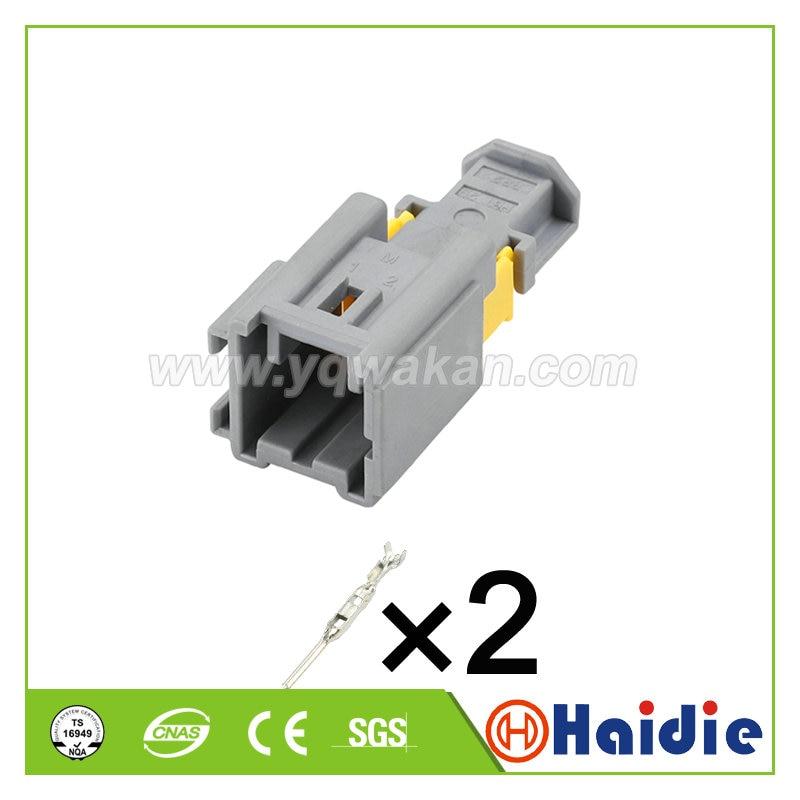 Envío Gratis 5 Juegos 2pin Molex 1,5 serie ignífugo macho arnés de cable automático 98822-1028