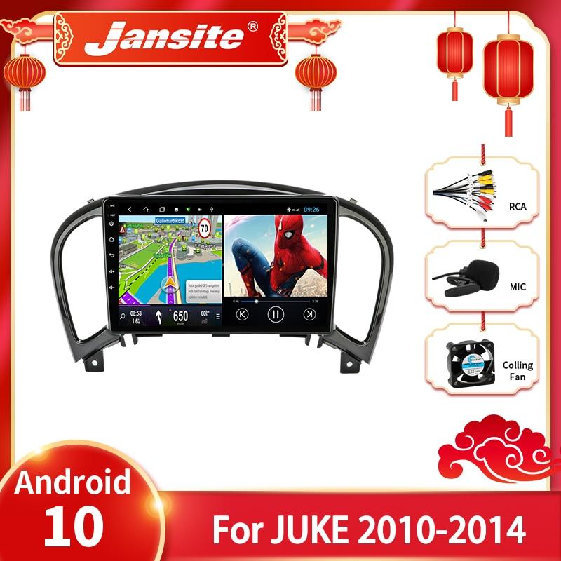 Jansite Android 10.0 Car Radio For Nissan Juke YF15 2010-2014 Multimedia Video Player 2 din Navigation GPS Stereo DVD Head unit недорого