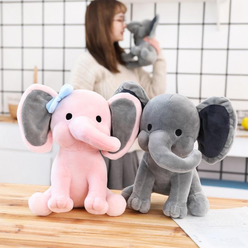 25 cm new Plush Toys Elephant Soft Stuffed Plush Animal Doll for Kids Birthday Christmas Gift M149
