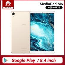 Original Huawei Mediapad M6 Tablet 64GB WIFI LTE Kirin980 Octa Core Turbo 8,4 pulgadas Android 9,0 con Google play 6100mAh tipo-C