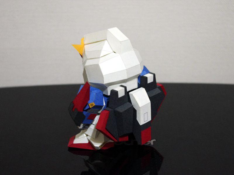 Sd gundam MSZ-060 3D Бумага модель DIY Ручная сборка игрушки Косплэй украшения-игрушки подарки