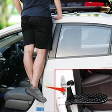 Creative Metal Portable Car Pedals Door Latch Hook Step Foot Pedal Ladder for Auto Truck Roof Gadget