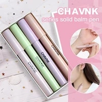 4 pieces of solid balm pen perfume stick portable solid perfume long lasting fragrance light men and women travel solid perfume