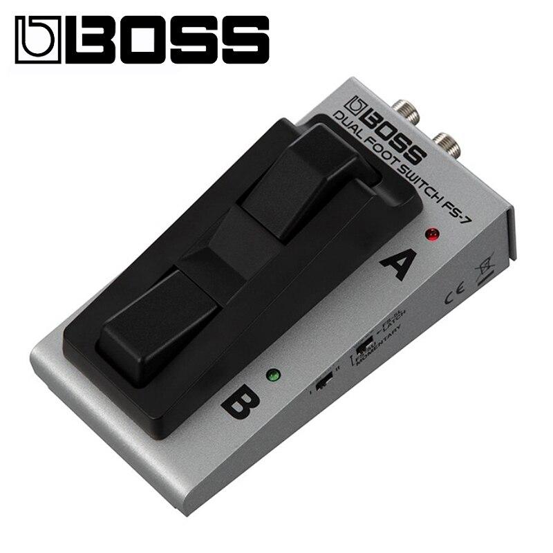 BOSS FS-7 المزدوج Footswitch F/S جديد الغيتار آثار دواسة