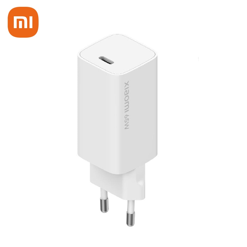 الأصلي شاومي غان 65 واط سريع شاحن USB Type-C الذكية الناتج PD شاحن السفر 48% أصغر 20 فولت = 3.25A 10 فولت = 5A للهواتف الذكية