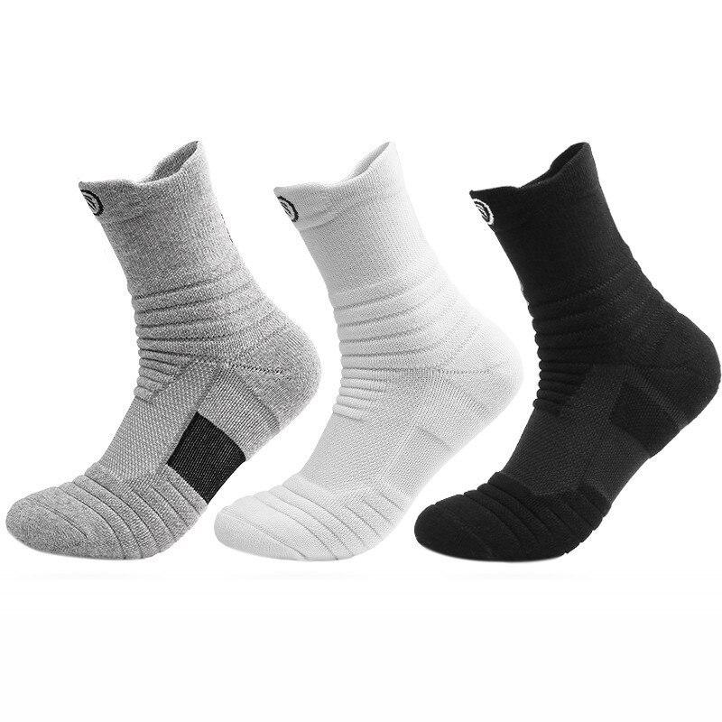 Дышащие мужские носки, спортивные влагопоглощающие пот носки для бега, Длинные Короткие мужские носки, мужские носки