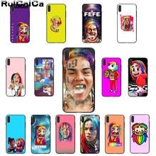 RuiCaiCa Hip Hop rapero 69 6IX9INE colorido lindo teléfono accesorios funda para Apple iPhone 8 7 6 6S Plus X XS X MAX 5 5S SE XR cubierta