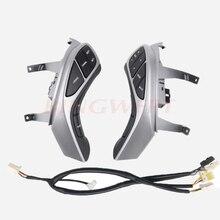 BINGWFPT-interrupteur à boutons pour Hyundai Elantra i30   Boutons de volant, boutons de téléphone contrôleur de croisière, accessoires de voiture