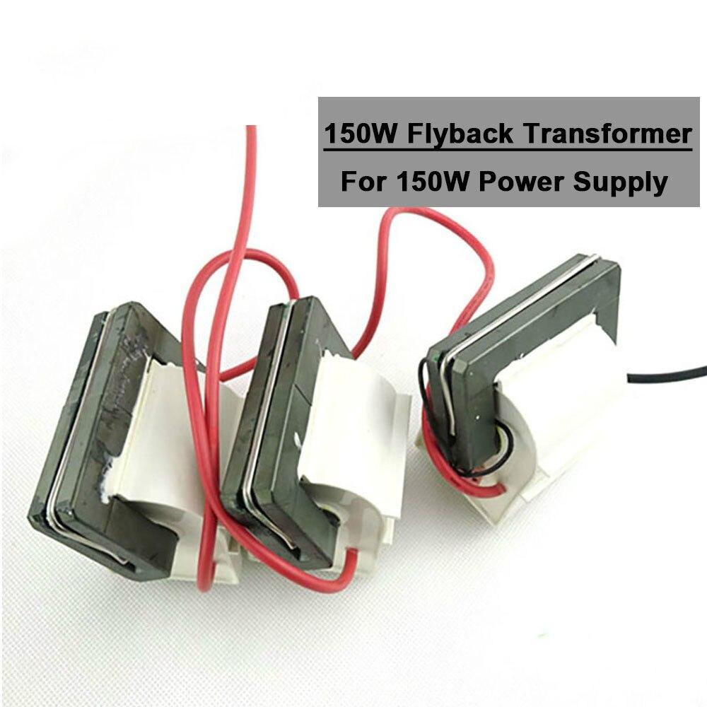 3 unids/lote transformador Flyback de alto voltaje 150W fuente de alimentación láser para máquina cortadora de grabado láser Co2