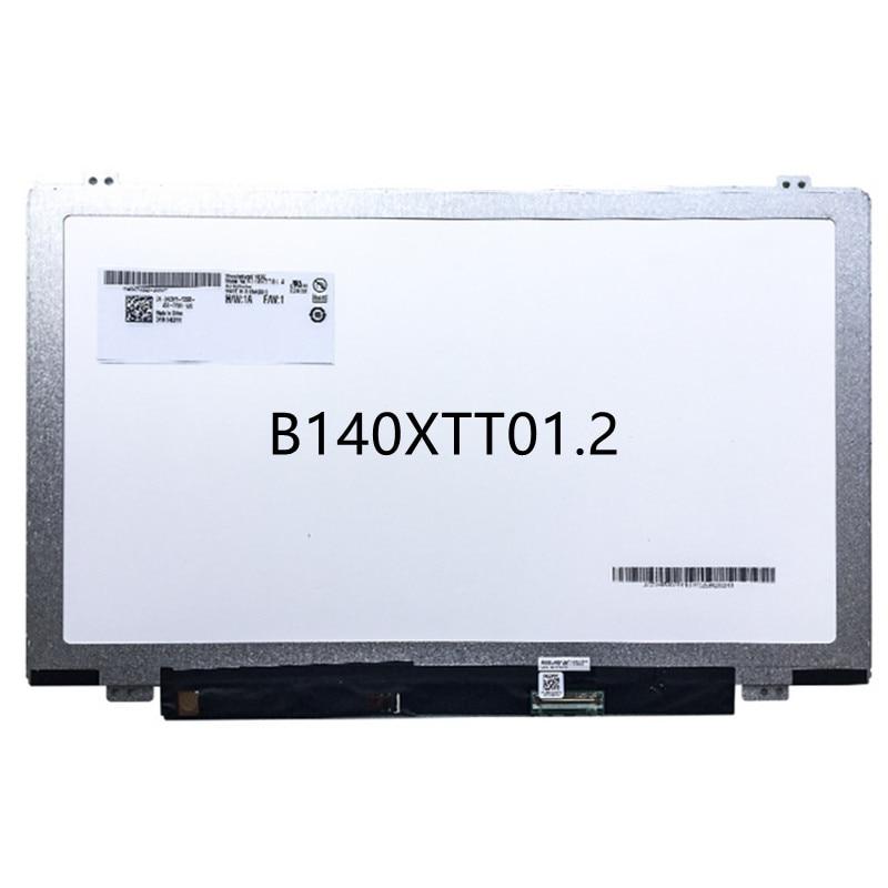 لديل انسبايرون 14-3443 14-5447 14-5448 14-5439 B140XTT01.2 HB140WHA-101 B140XTT01.3 محمول LCD شاشة مع لوحة اللمس