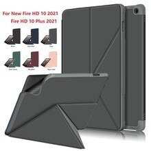 Auto-Sleep/Wake Case for New Fire HD 10 2021 Case Cover For New Fire HD 10 Plus (2021)