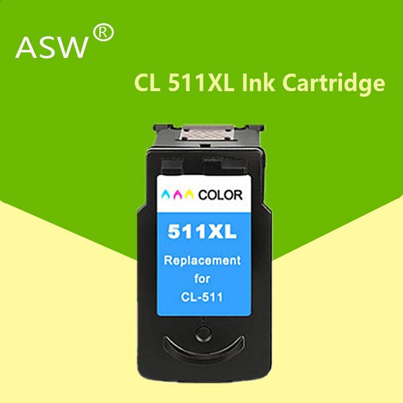 1 X kolor PG510XL CL511XL atrament kartridż do canona PG510 CL511 MP240 MP250 MP260 MP280 MP480 MP490 IP2700MP499 pg510xl cl511xl