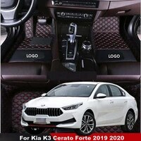 car floor mat for kia k3 cerato forte 2019 2020 car styling carpets custom auto interior decoration accessories car mat