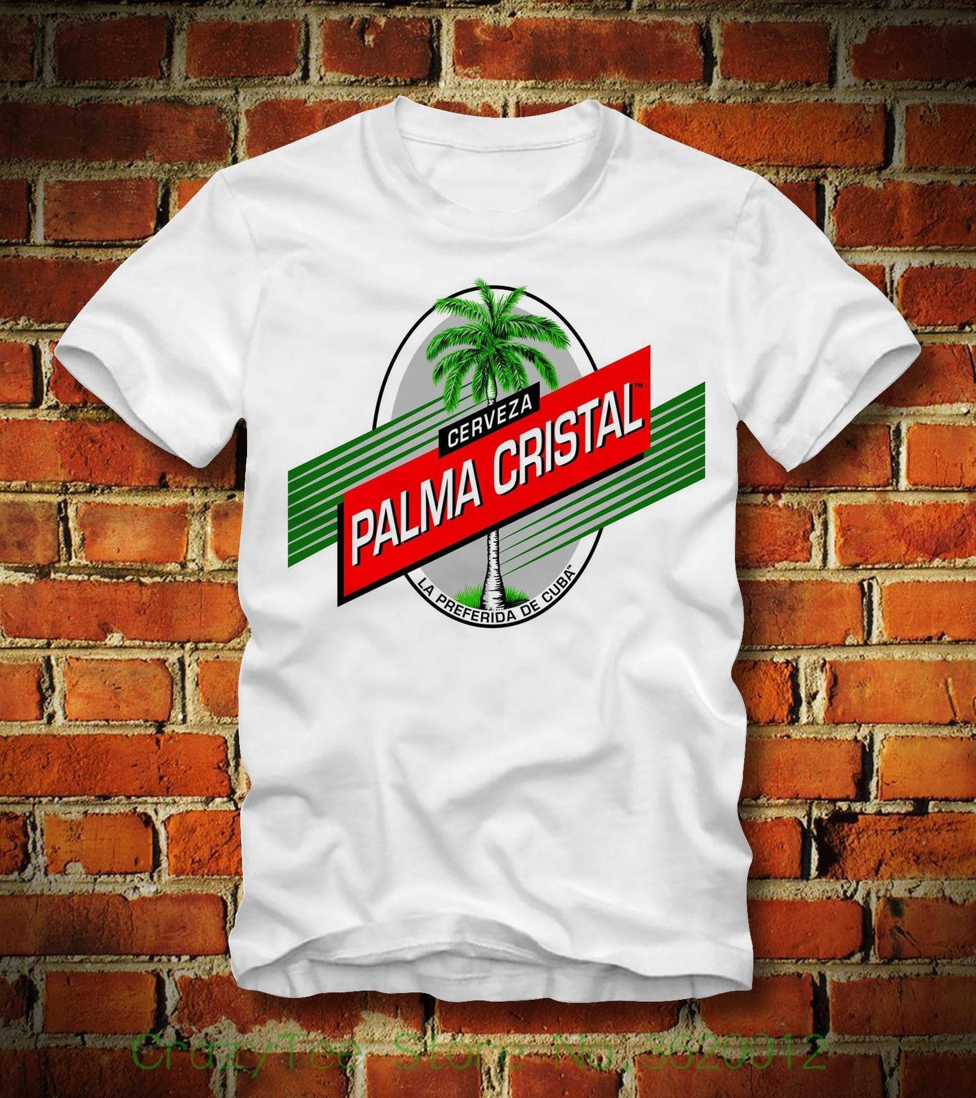 Camiseta para mujer, camiseta Palma cristalina, cerámica Kuba Cuba, Cerveza Bier Karibik Havanna, personaje de dibujos animados Hv