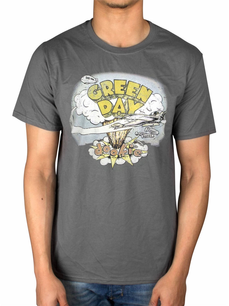 Dookie de Green Day Vintage Tops camiseta Nimrod American idonk Insomniac Dooki hombre mujer camiseta