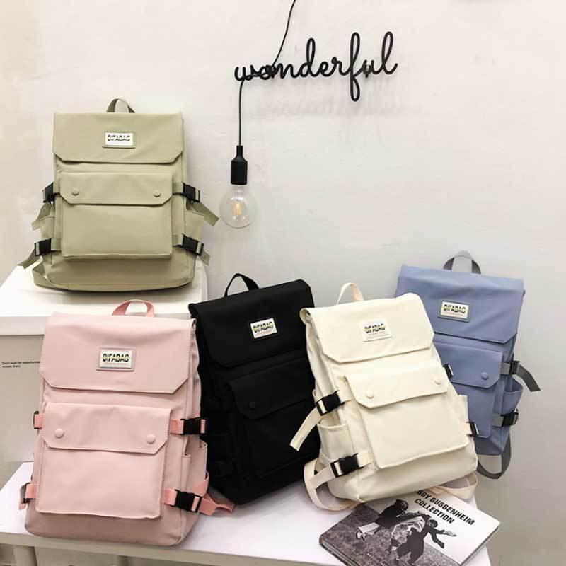 Женский вместительный рюкзак для колледжа, новая модель 2021, женские корейские рюкзаки для старших классов, роскошные женские рюкзаки