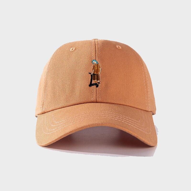 Бейсболка для девочек, Женская бейсболка с вышивкой из мультфильма, летняя женская хлопковая уличная шляпа от солнца для мальчиков