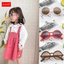 Retro Round Sunglasses Children Sunglasses Boys Girls Outdoors Goggle Shades Eyewear Frame Anti-blue
