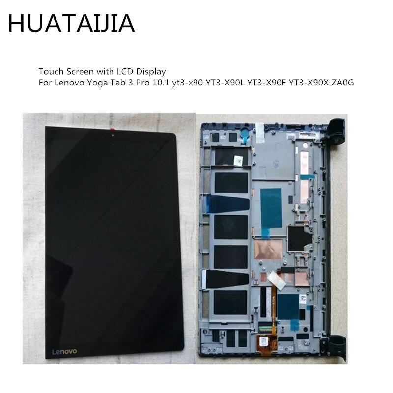 LCD Display For Lenovo Yoga Tab 3 Pro 10.1 yt3-x90 YT3-X90L YT3-X90F YT3-X90X ZA0G tablet Assembly Parts Touch Screen Digitizer