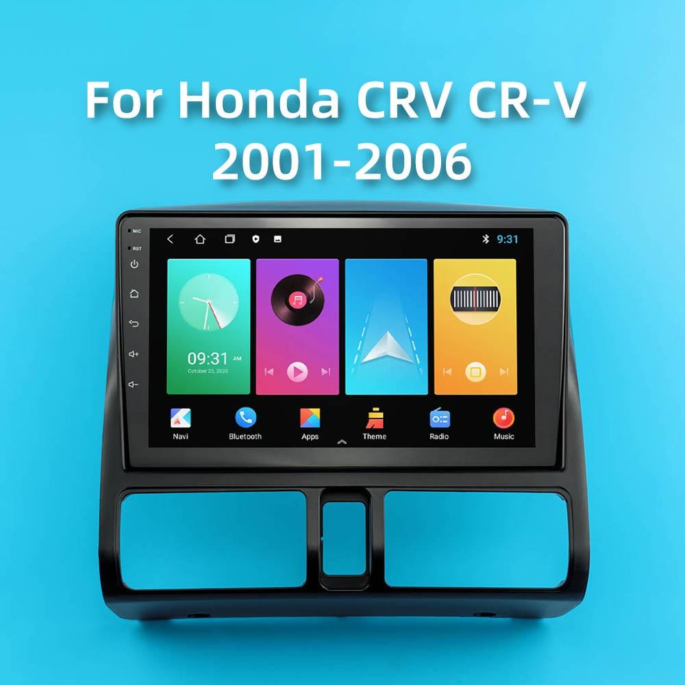 "Android 8.1 Auto Radio navigation stereo wifi gps For Honda CRV CR-V 2001-2006 Car Radio Multimedia Player 2 din 9"""