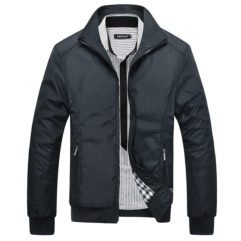 Демисезонная Мужская куртка, ветровка, мужское пальто, повседневные куртки, мужская верхняя одежда и пальто, модная мужская одежда