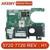 CN-01040N DA0R09MB6H1 REV : H1 carte mère d'ordinateur portable adapté pour For DELL inspiron 5720 7720 ordinateur portable N13P-GV-B-A2