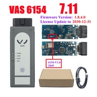 VAS6154 V6.10 V7.11 WiFi VAS 6154 Full Chip VAG Diagnostic Scanner with Multi Languages High Quality