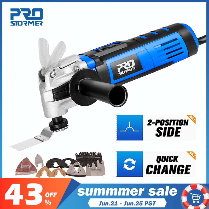AliExpress - Multifunction Tool Oscillating Multi-Tools Variable Speed Renovator Electric Home Decoration Trimmer Electric Saw by PROSTORMER