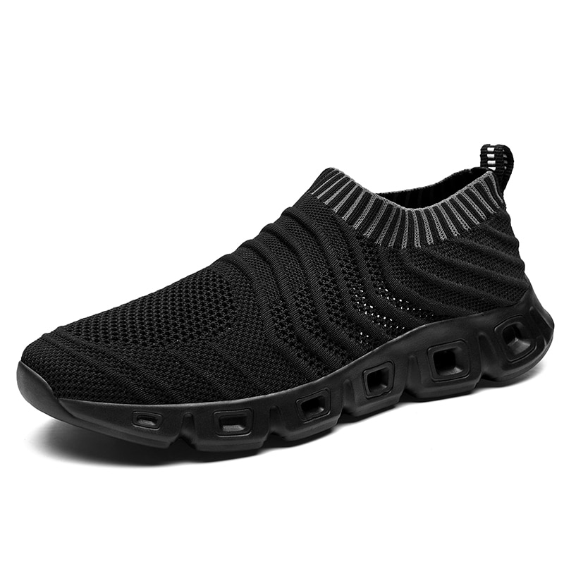 New Summer Breathable Mesh Men's Shoes High Quality Comfortable Casual Shoes Lightweight Outdoor Wear-resistant Sneakers 39-48