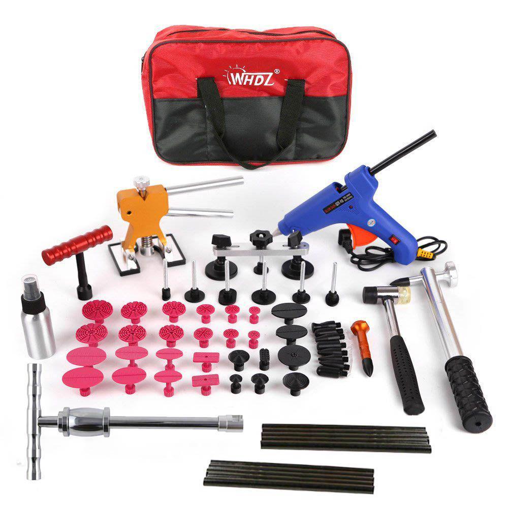 FURUIX Auto Repair Tool Kit To Remove Car Dents Pull Gasket Tool Kit, Dent Tool