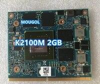Quadro K2100M K 2100M GDDR5 Video Grafikkarte N15P-Q3-A1 Fur Dell M6800 HP 8560W 8570W 8770W ZBook 15 17 G1 G2 100  Test OK